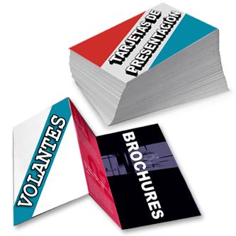 Necesita Volantes, Tarjetas y Brochures?