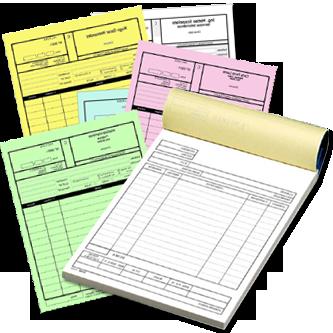 Imprimimos su papeleria, formularios, factureros, recibos, membretes y mas...