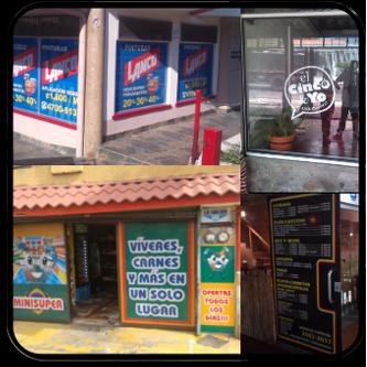 Rotulacin de locales y ventanales comerciales