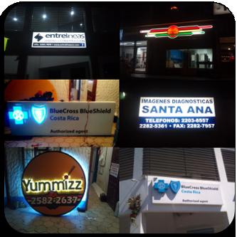 Rtulos Luminosos, Letras y Logotipos en 3D de alto relieve