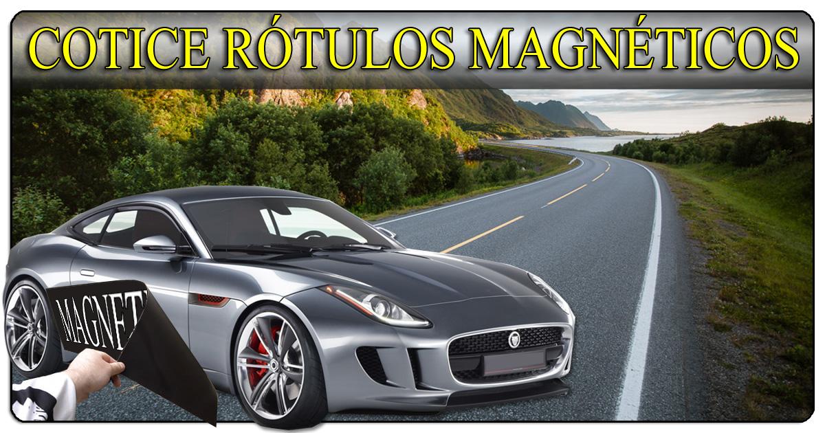 Cotice su Rotulo Magnetico o Imantado (506)2282-5122 / (506)2282-6211