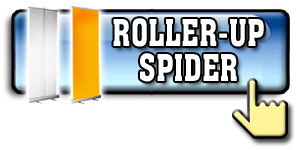Cotizar Banners Roller-Up y Pie Araña (Spider Banner)