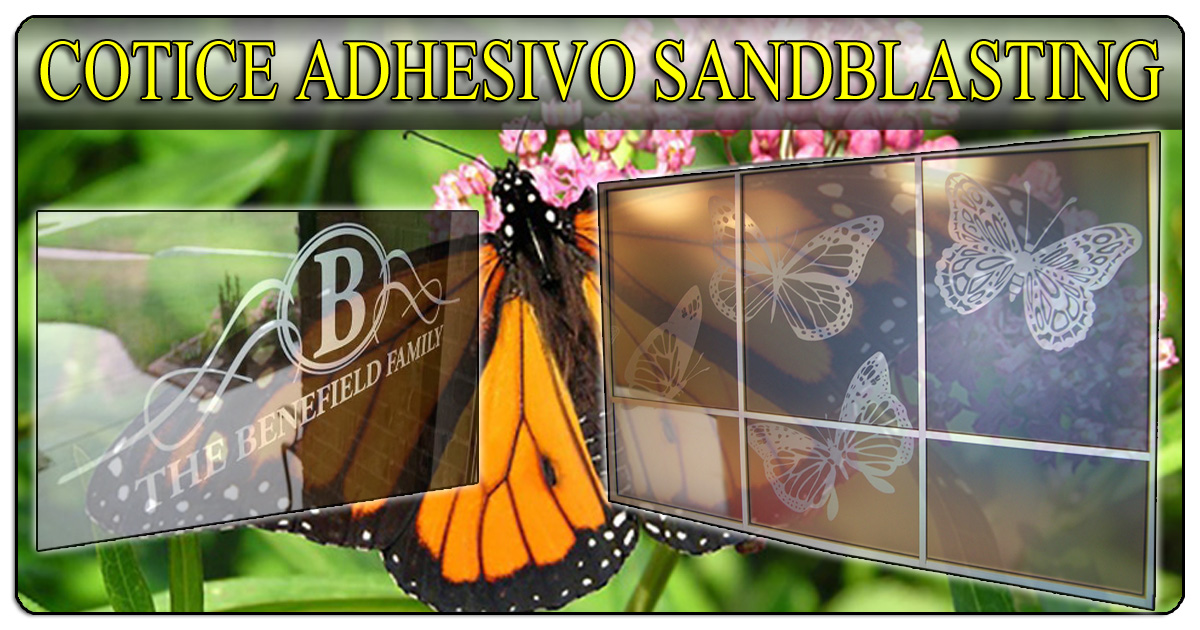 Cotice sus Adhesivos Sandblastiados (Sandblasting Stickers) (506)2282-5122 / (506)2282-6211