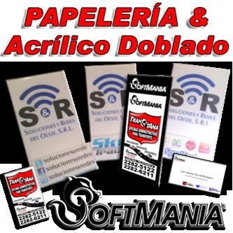 Impresión de Papelería y Piezas de Acrílico Doblado (506)2282-5122 / (506)2282-6211