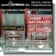 Adhesivos y Calcomanias para Equipos y Maquinaria