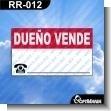 Rotulo Prefabricado - FOR SALE