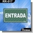 Rotulo Prefabricado - ENTRADA