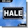Rotulo Prefabricado - HALE / PULL