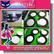 HERMOSA VAJILLA CLASICA COLOR CAFE DE 16 PIEZAS CON ACABADO MATE