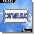 Rotulo Prefabricado - CONTABILIDAD