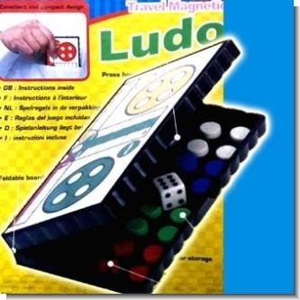 Lee el articulo completo JUEGO LUDO MAGNETICO (13X13CMS) PLEGABLE