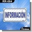 Rotulo Prefabricado - INFORMACION