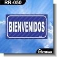 Rotulo Prefabricado - BIENVENIDOS