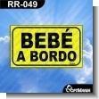 Rotulo Prefabricado - BEBE A BORDO