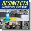 DESINFECTA Corporativo y Residencial - Limpieza y Desinfeccion de Edificios y Residencias