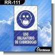 Rotulo Prefabricado - USO OBLIGATORIO DE TAPABOCAS
