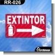 Rotulo Prefabricado - EXTINTOR VERSION 05