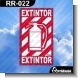 Rotulo Prefabricado - EXTINTOR VERSION 01