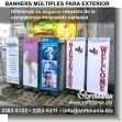 Banners Multiples para Exterior