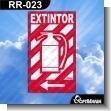 Rotulo Prefabricado - EXTINTOR VERSION 02