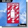 Rotulo Prefabricado - EXTINTOR VERSION 04