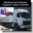 Rotulacion de Camiones, Furgones, Trailer y Carretas