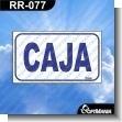 Rotulo Prefabricado - CAJA