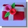 Decoracion para envoltorio de regalo