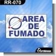 Rotulo Prefabricado - AREA DE FUMADO