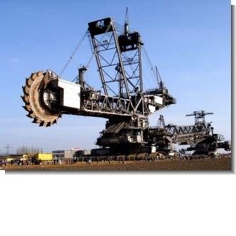 Lee el articulo completo La excavadora mas grande del mundo: ThyssenKrupp Bagger 288