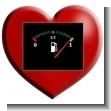 Detalles para llenar el tanque del combustible del amor