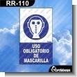 Rotulo Prefabricado - USO OBLIGATORIO DE MASCARILLA
