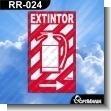Rotulo Prefabricado - EXTINTOR VERSION 03
