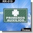 Rotulo Prefabricado - PRIMEROS AUXILIOS