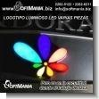 Logotipo Luminoso LED con Varias Piezas Luminosas